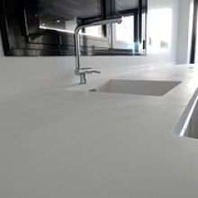 """encimera acrílica (solid surface) • <a style=""""font-size:0.8em;"""" href=""""http://www.flickr.com/photos/69591030@N06/13067314513/"""" target=""""_blank"""">View on Flickr</a>"""