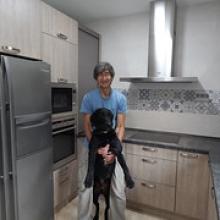 """Angel y su amigo en su nueva cocina • <a style=""""font-size:0.8em;"""" href=""""http://www.flickr.com/photos/69591030@N06/30326815461/"""" target=""""_blank"""">View on Flickr</a>"""