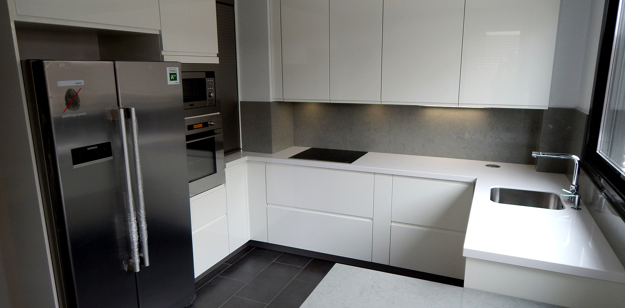 Muebles de cocina modelo 5025 for Muebles altos de cocina