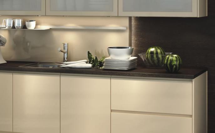 Nuevos materiales para tus muebles de cocina for Materiales para tapiceria de muebles