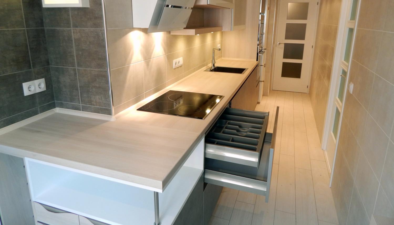 Muebles de cocina dise o actual - Tiradores de muebles de cocina ...