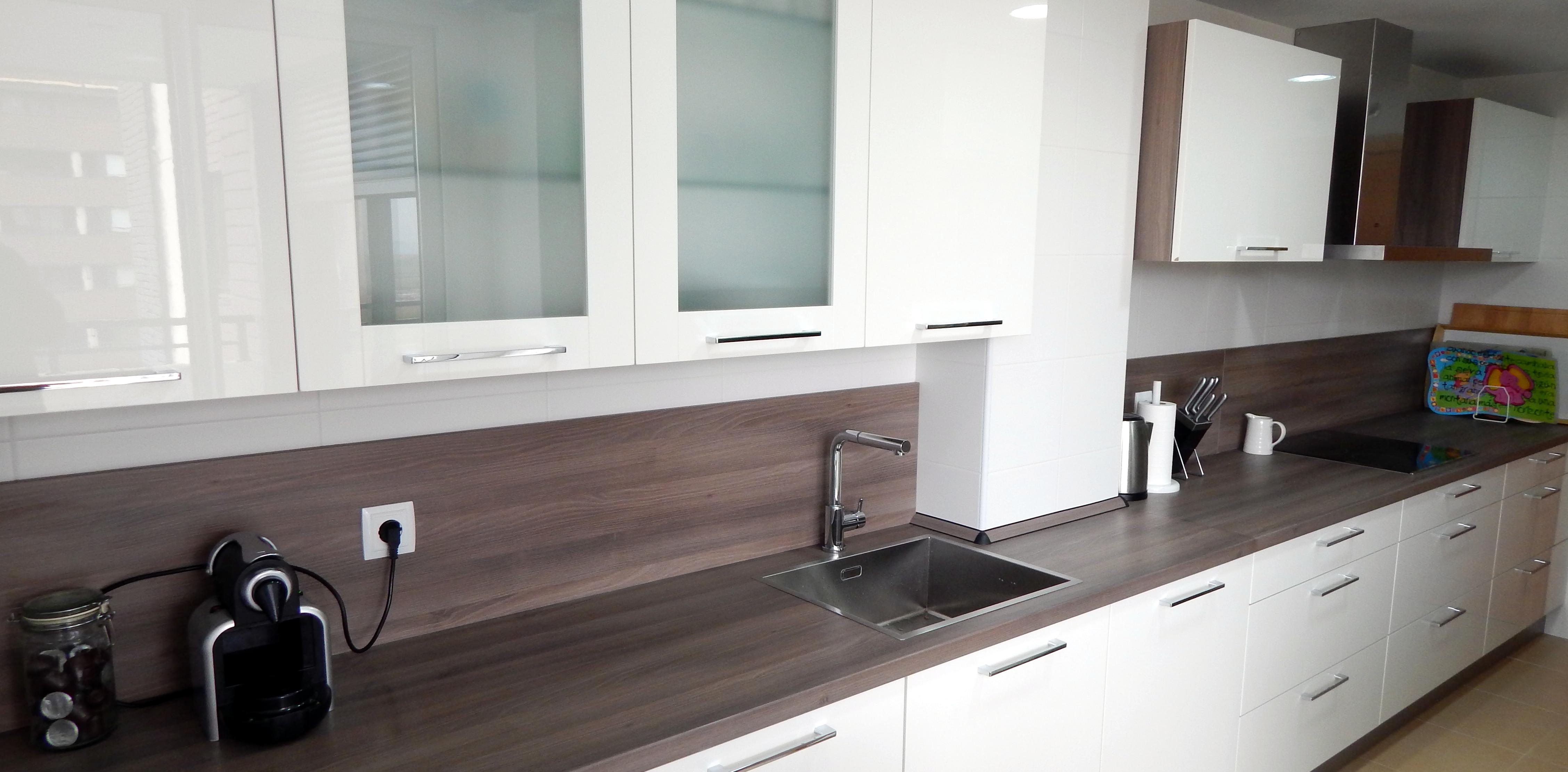 Muebles de cocina modelo lasser en blanco - Muebles cocina blanco ...