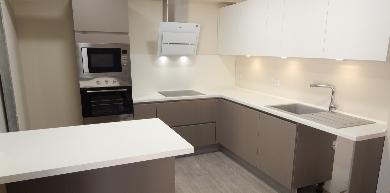 Muebles de cocina modelo laser for Modulos cocina leroy