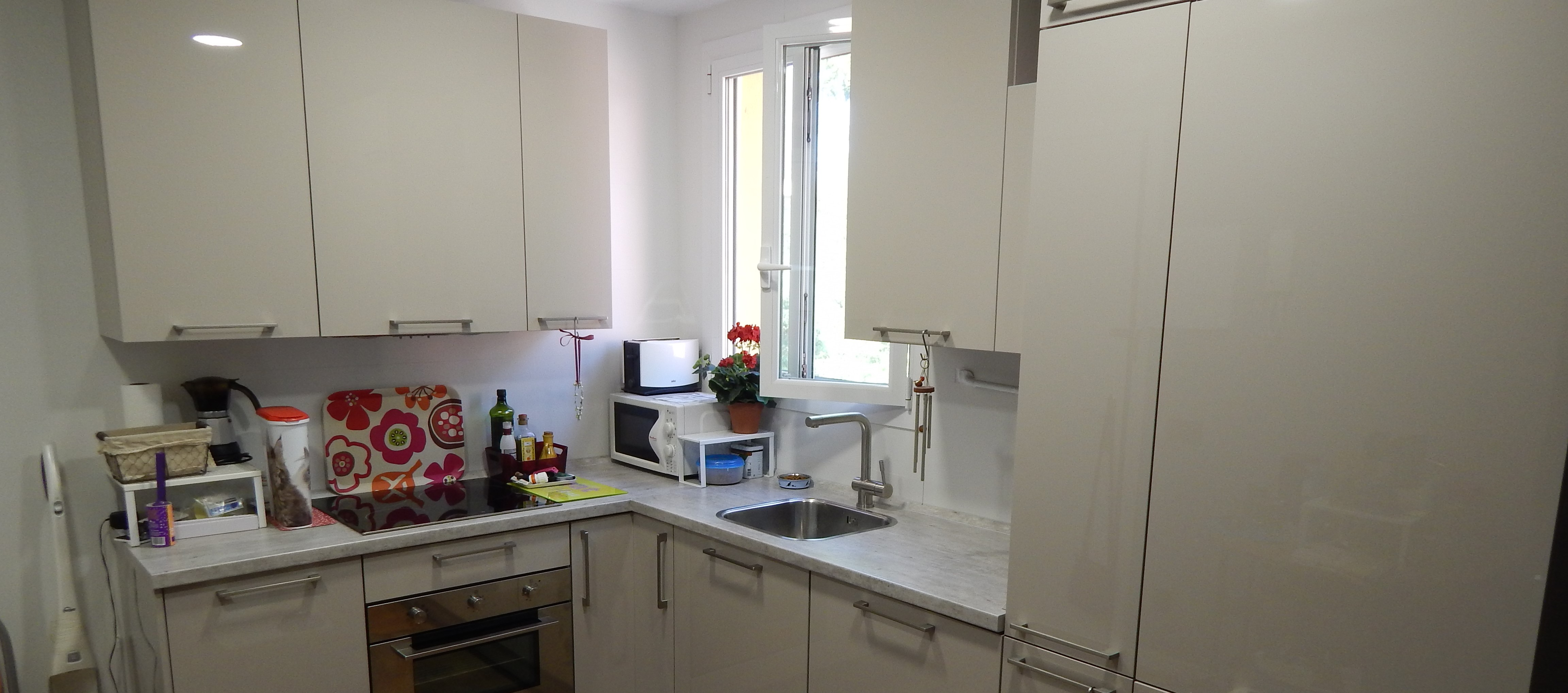 Muebles de cocina cachemir alto brillo for Muebles altos de cocina