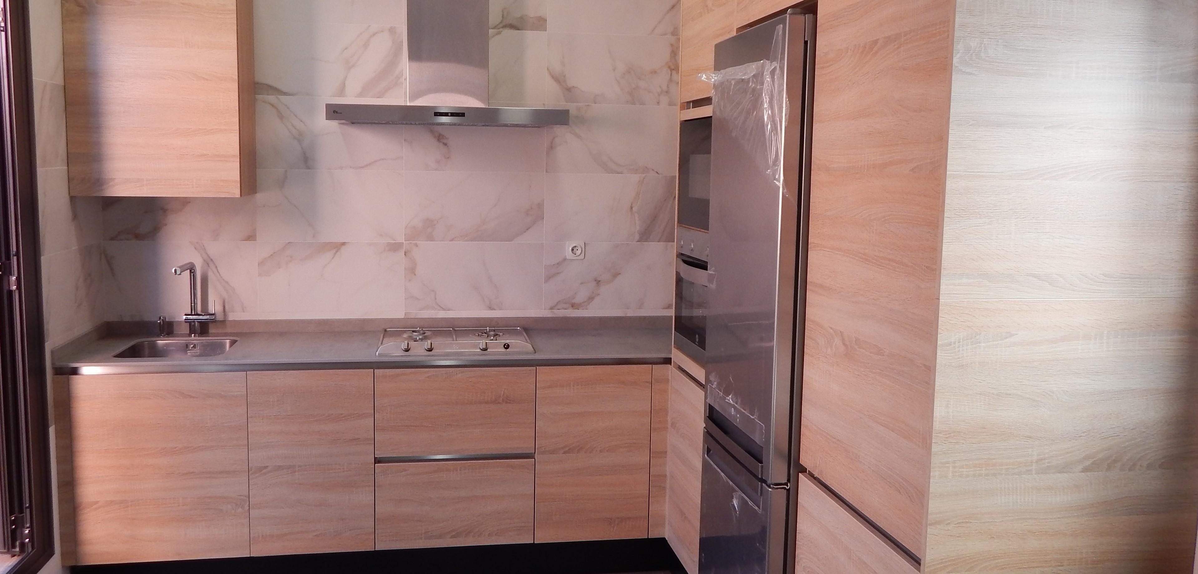 Cocinas color roble best gabinetes areos de cocina color - Cocinas color roble ...