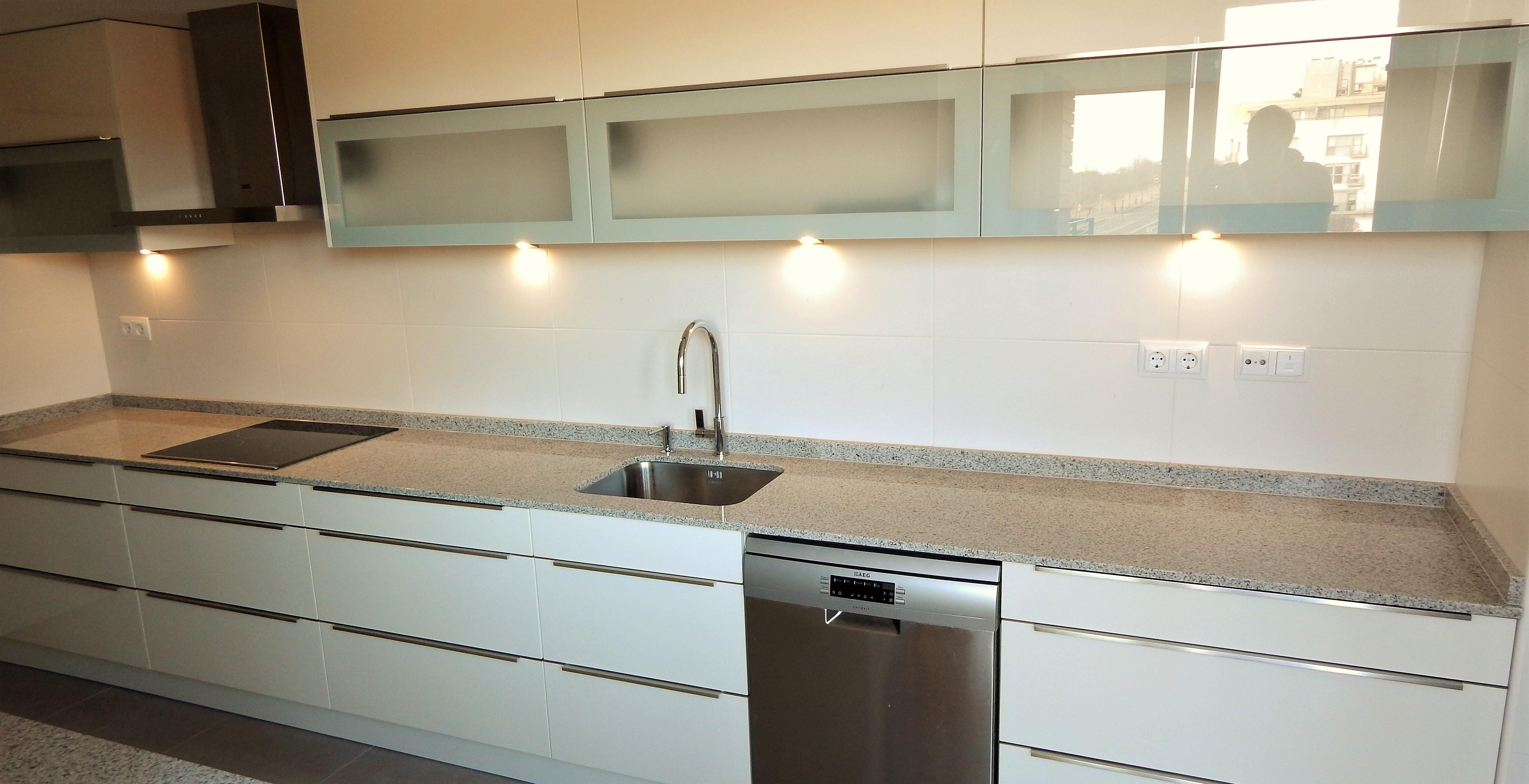 Muebles Cocina Blanco Brillo. Latest Diseo De Cocinas Lneacocinas ...
