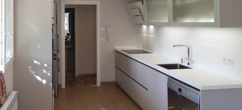 muebles de cocina laca mate cachemir