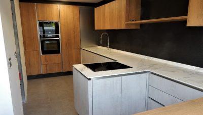 madera y cemento
